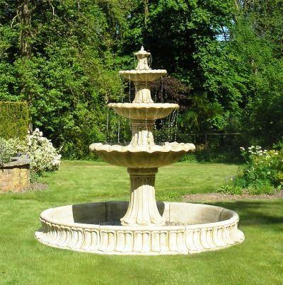 Fuentes y jardines exteriores buscar con google for Cascadas y fuentes de agua para jardin
