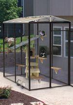 4 Diameter Indoor Outdoor Cat Cage Outdoor Cat Enclosure Outside Cat Enclosure Cat Enclosure