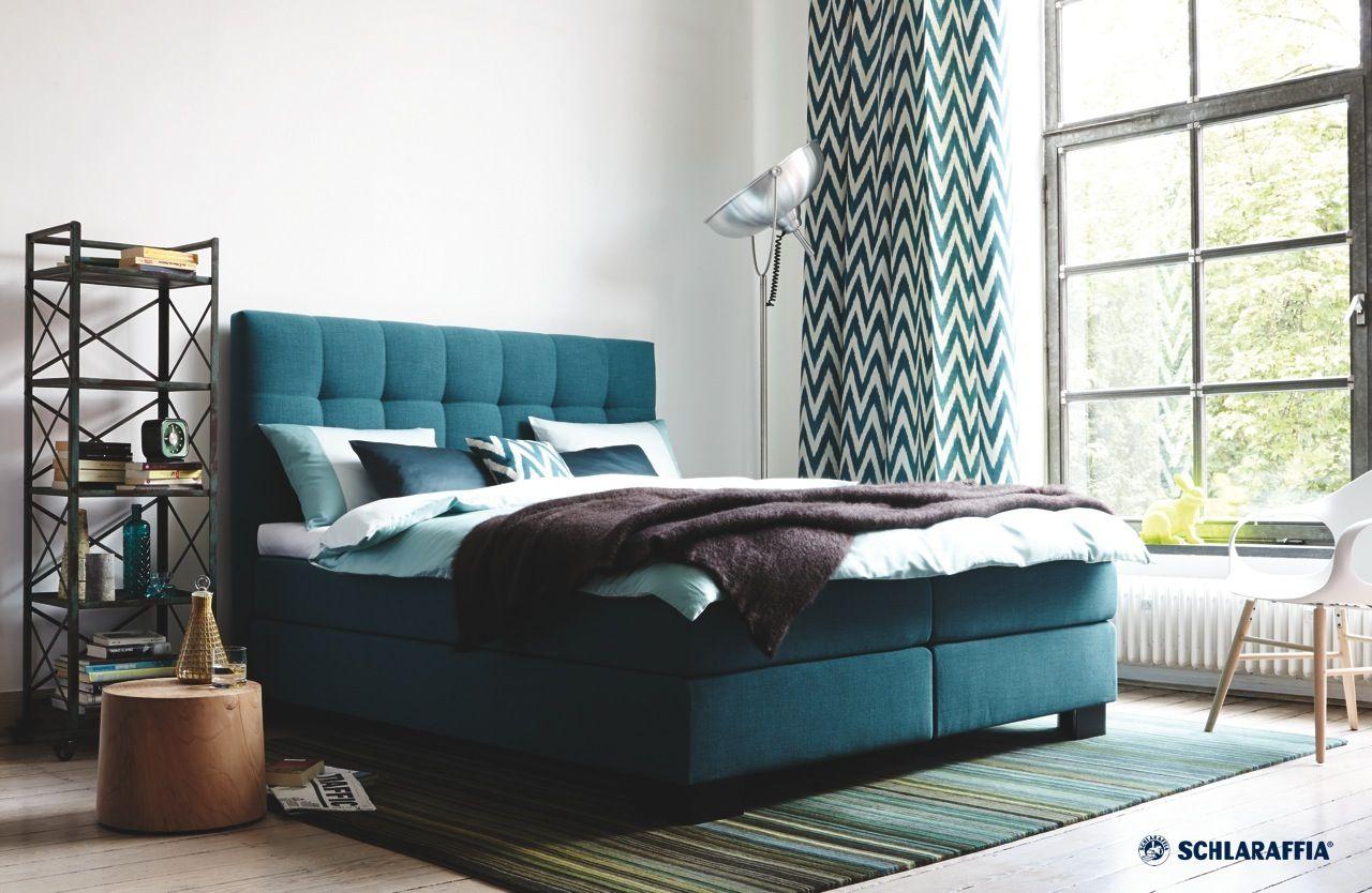 Schlafzimmer Einrichten Petrol Petrol Wandfarbe Schlafzimmer