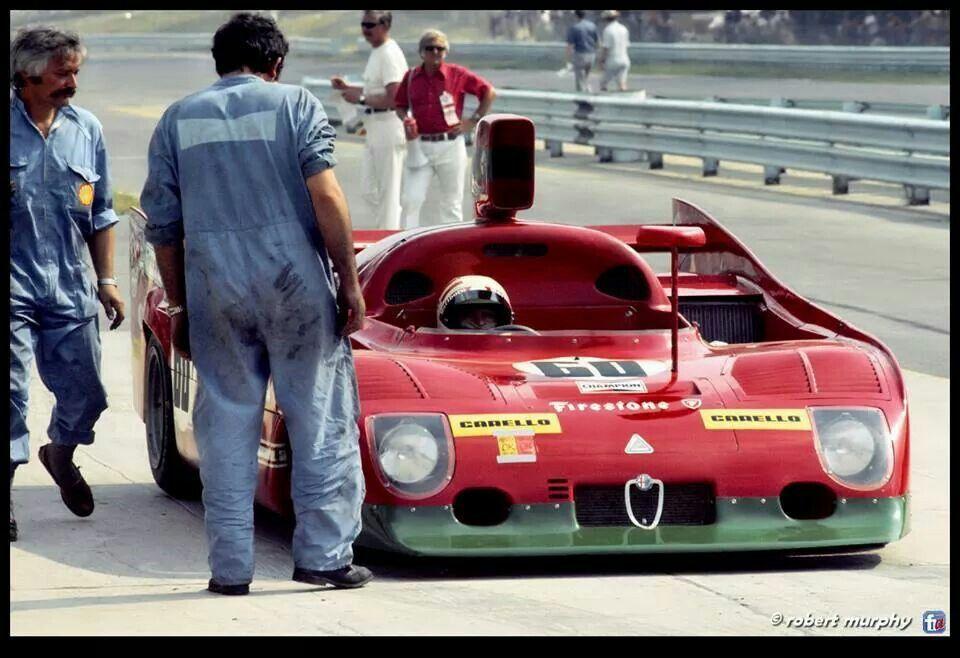 1974 @The Glen 6hours Alfa Romeo 33TT12 Andretti/Merzario