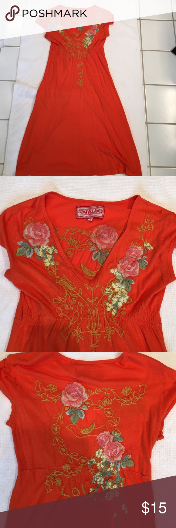 JWLA Dress Cute dress in good condition. Has a seam that needs to be repaired. Dresses