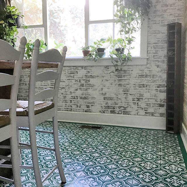 Kitchen Cabinets Santa Ana: Stencil A Stylish Kitchen Floor