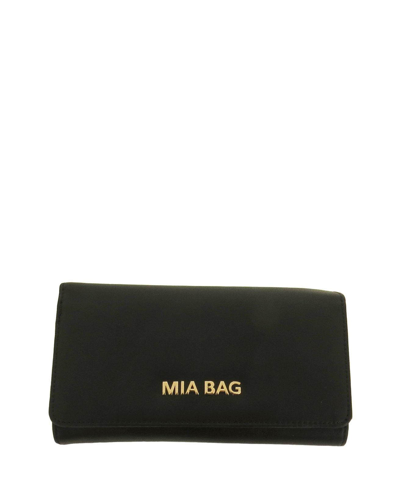 Mia Bag portafoglio lettering nero. www.caterinaformentini.it