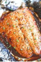 Photo of Foil Pack Recipes | Asian salmon in foil    Foil Pack Recipes  #Asian #Foil #P