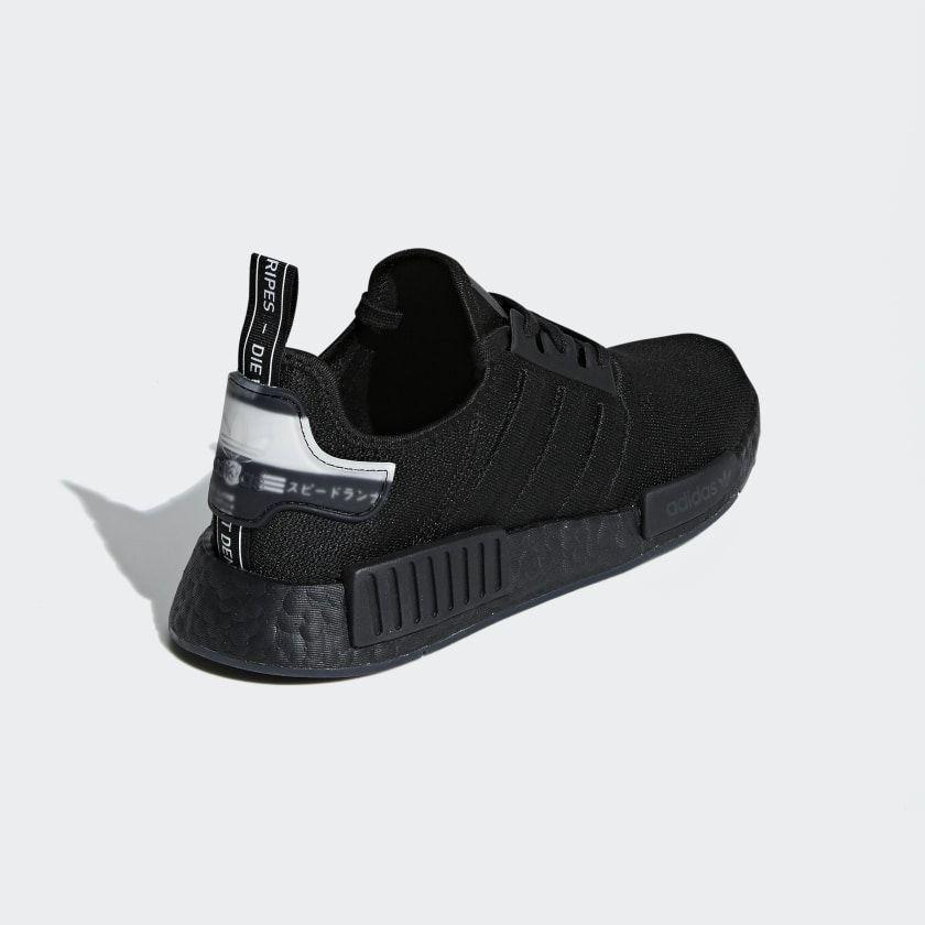 Nmd R1 Shoes Core Black Core Black Cloud White Bd7745 Adidas