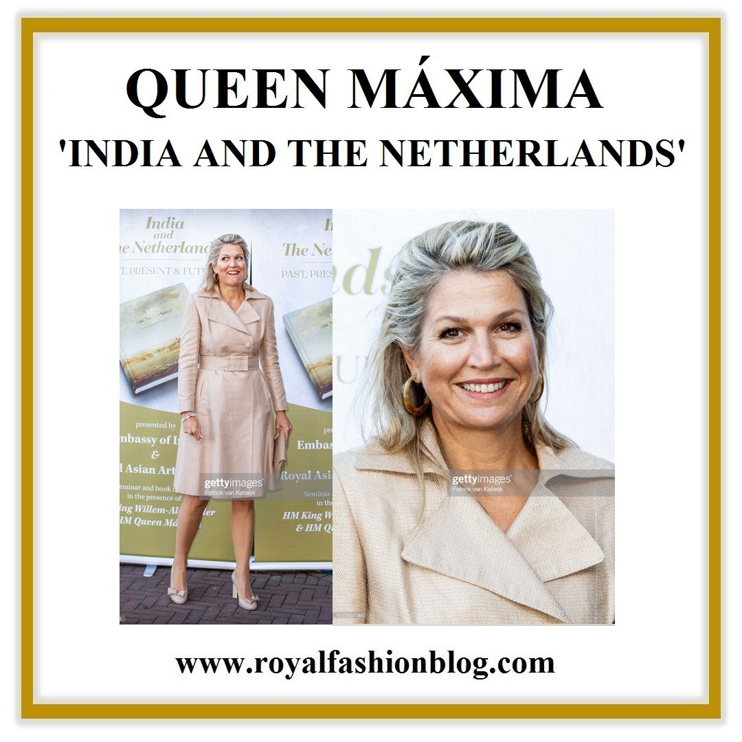 Queen Maxima Attended The Seminar India And The Netherlands Past