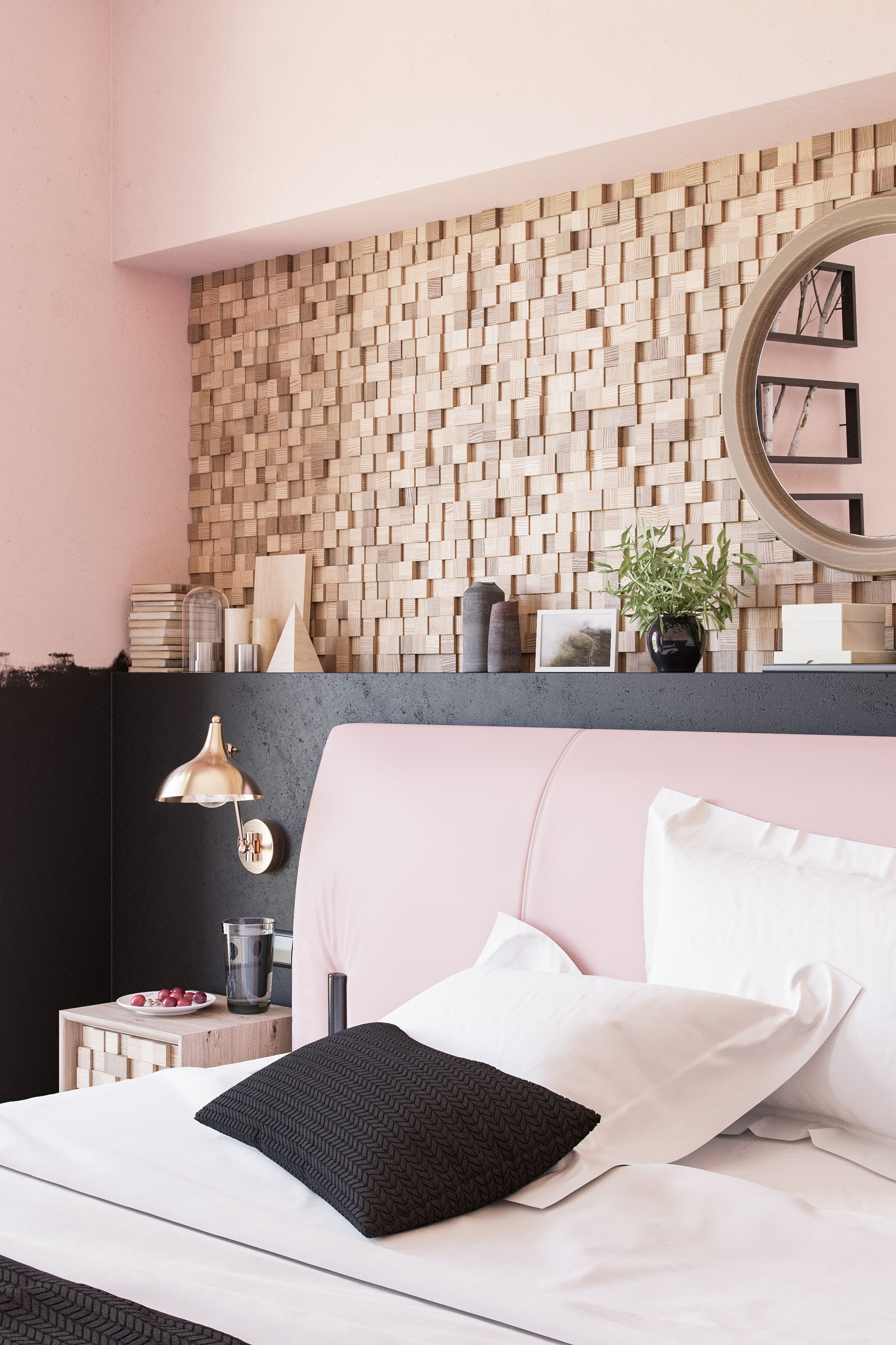 Diy Wood Trim Accent Wall Accent Wall Bedroom Wall Decor Bedroom Bedroom Wall