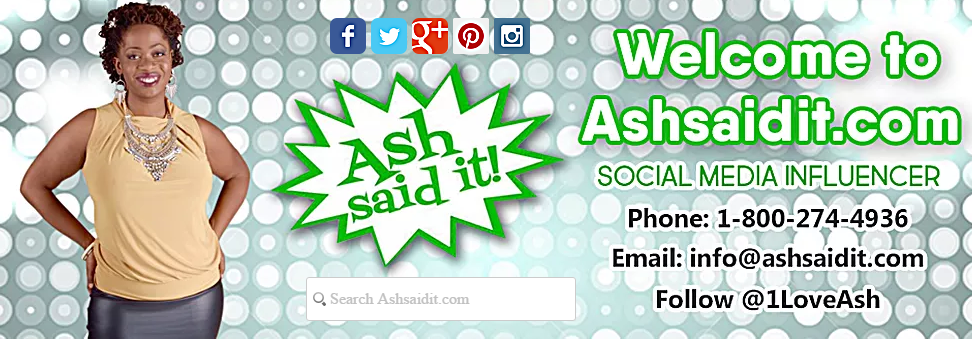 Ash Said It is a lifestyle brand dedicated to spreading positive insight through social media posts, podcasts, blog features, speaking engagements and television programming.  http://www.ashsaidit.com