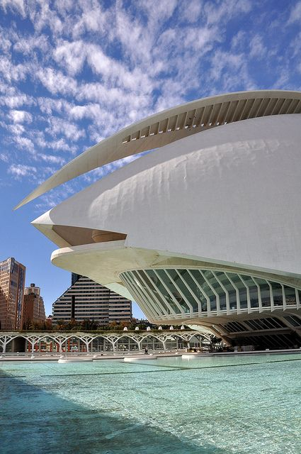 City Of Arts And Sciences Valencia Valencia Spain Valencia City Architecture