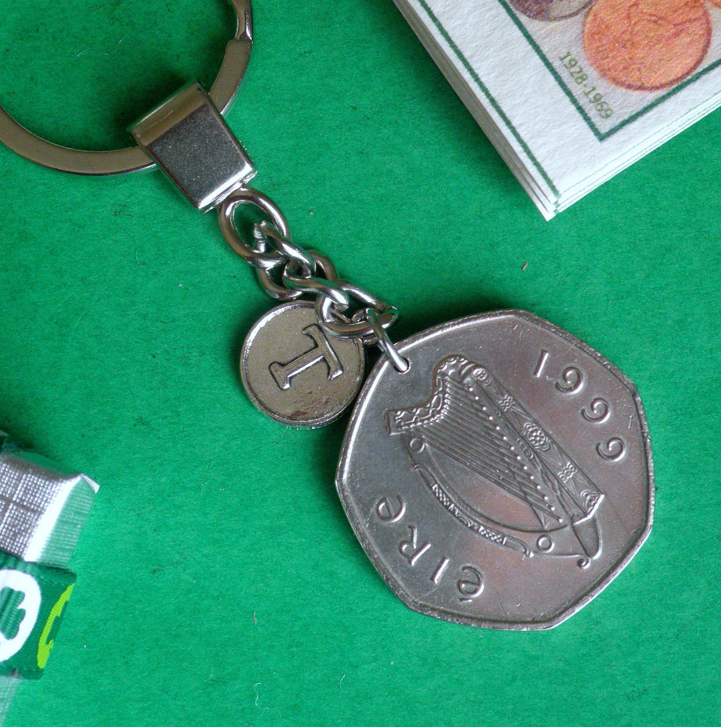 21st irish birthday customized keychain choice of