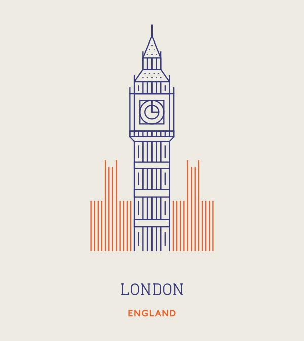London England London Illustration City Icon London Logo