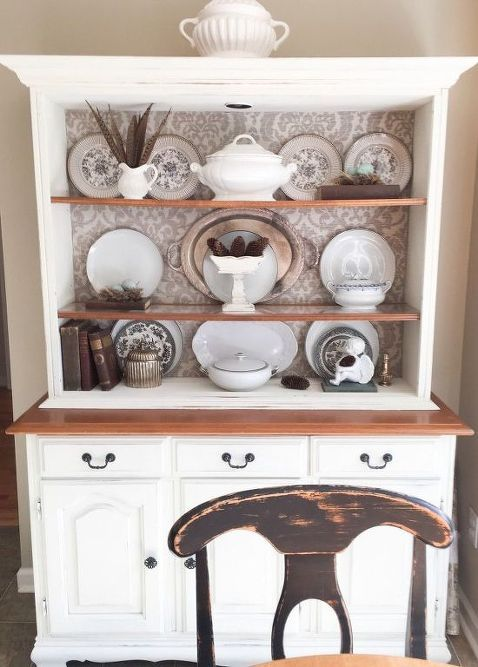 Transforming An Old China Cabinet images