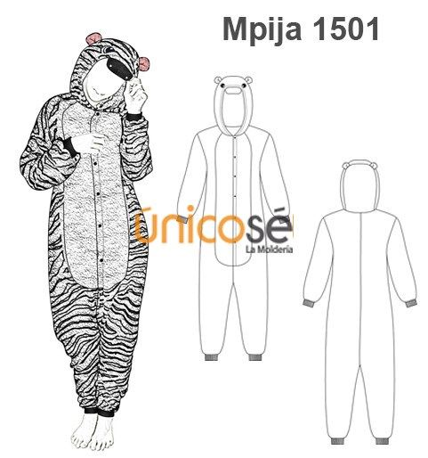 adc1679b07 PIJAMA CEBRA Pijama Entero Unicornio