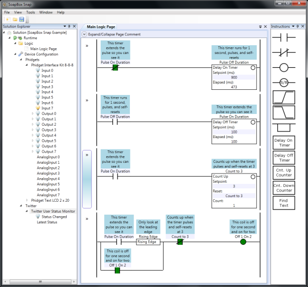 SoapBox PC based Ladder logic in 2019 | Ladder logic, Plc