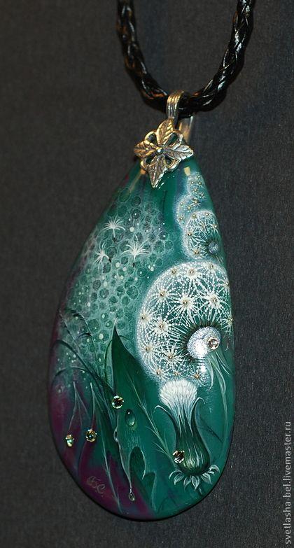 Pendants handmade. Fair Masters - handmade Dandelion fantasy. Handmade.