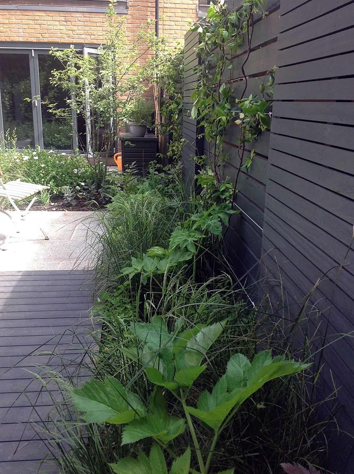 Grey and black garden design peckham battersea dulwich clapham ...