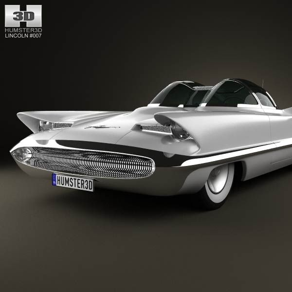 Lincoln Futura Lincoln Futura 1955 3d Car Model Cars Pinterest