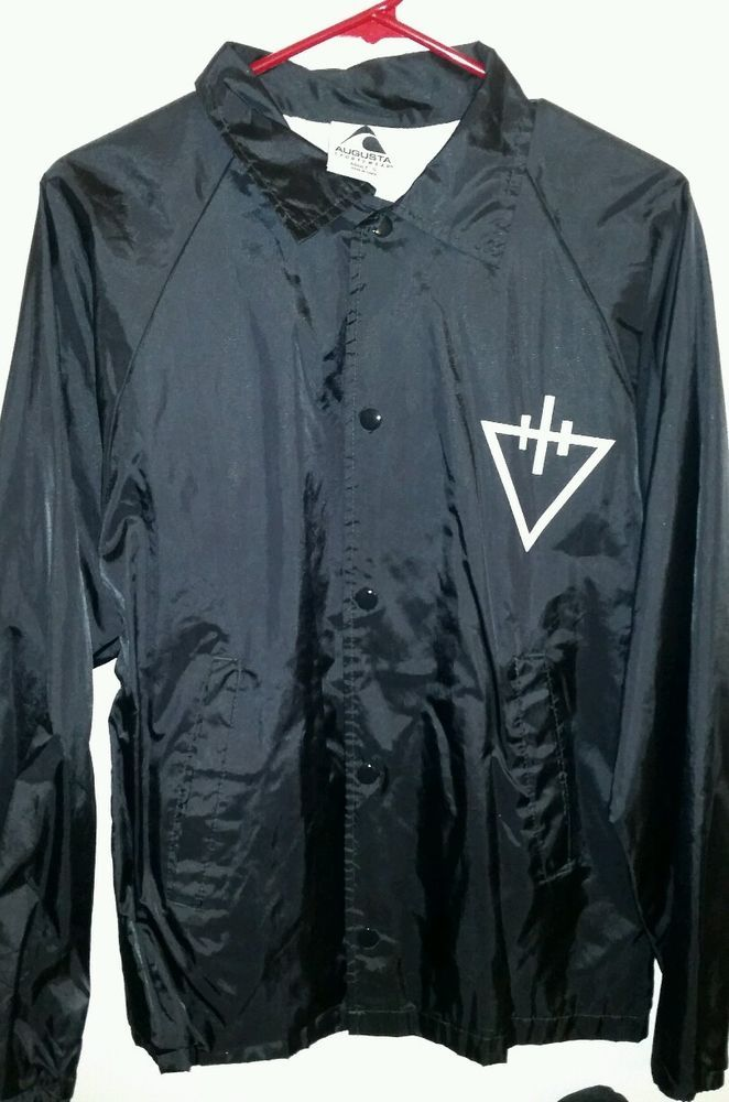 ccc417221bd1c from  50.0 - The Devil Wears Prada Band Windbreaker Jacket. Size Men s Small