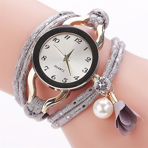de35f4fac4b Mulheres Relógio de Moda Bracele Relógio Simulado Diamante Relógio Chinês  Quartzo imitação de diamante PU Banda