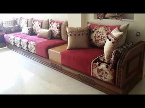 أشكال جديدة من السدادر الخشبية المنقوشة Salon marocain 2016 ...