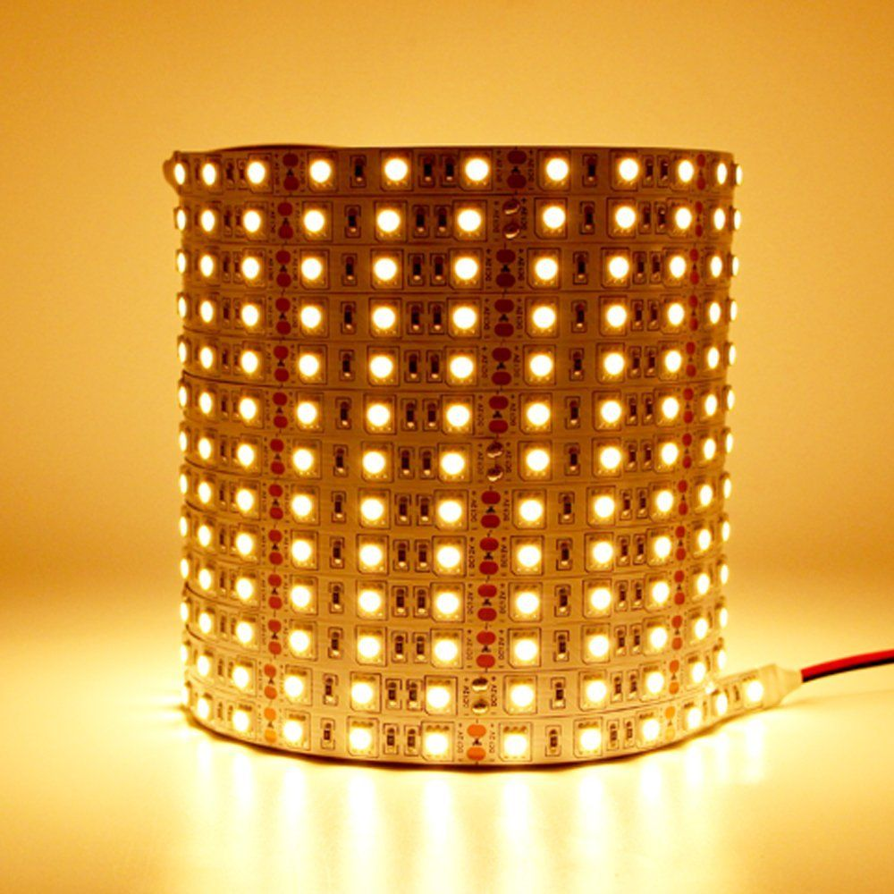 Dimmable Led Strip Lights 10m Kit 2835 3000k Warm White Led Ribbon Olafus Led Strip Lighting Strip Lighting Led Tape Lighting