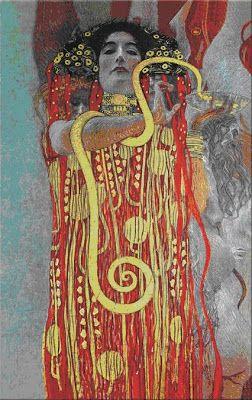 Charles Fonseca: Higia. Klimt. Pintura