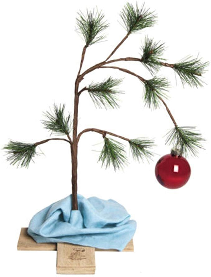 Amazon Com Product Works 87770 24 The Original Charlie Brown Artif Home Kitchen Charlie Brown Christmas Tree Creative Christmas Trees Charlie Brown Tree