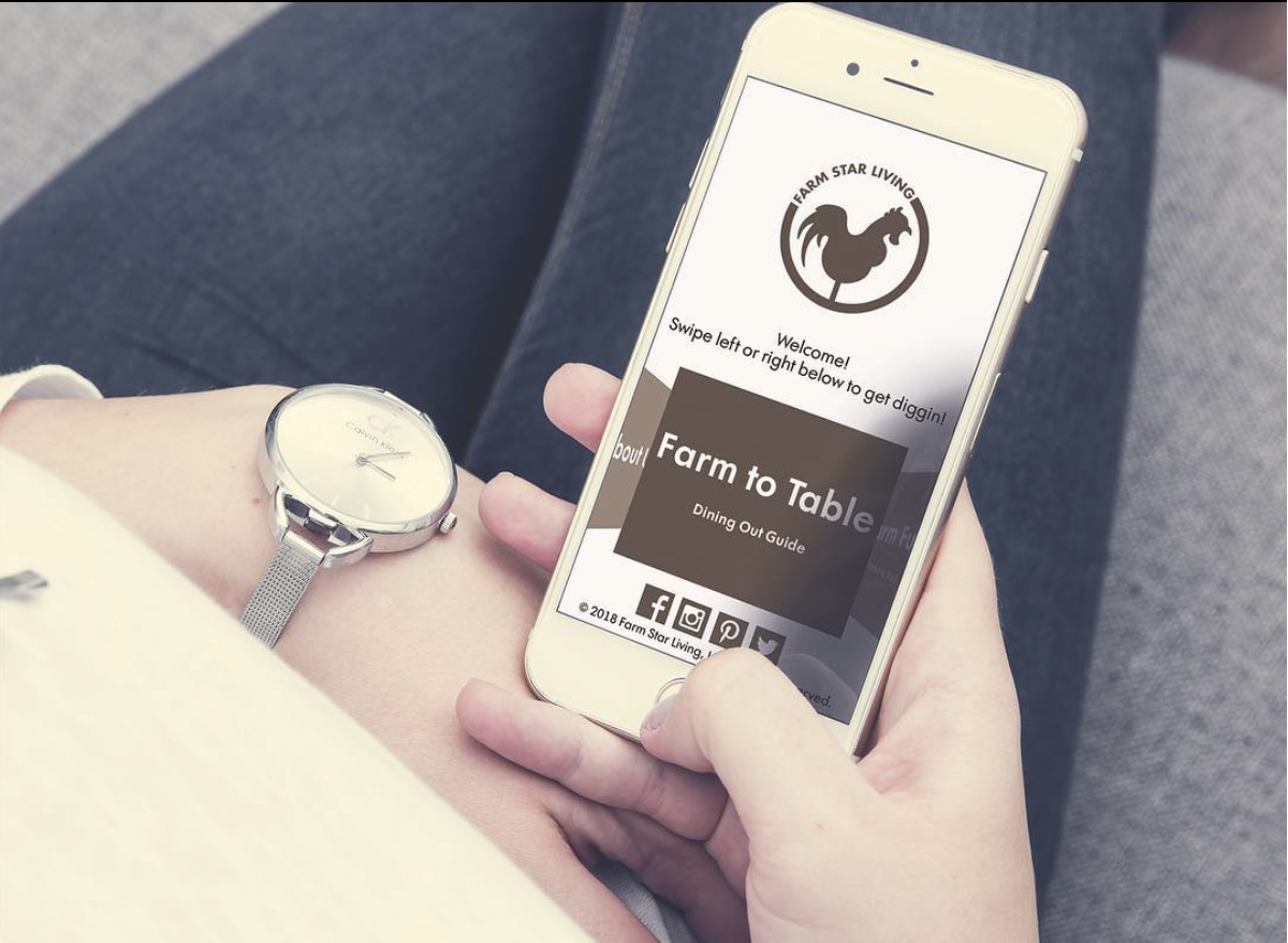 Farm Star Living Recently Relaunched Its Website And App To Serve As - Farm to table app