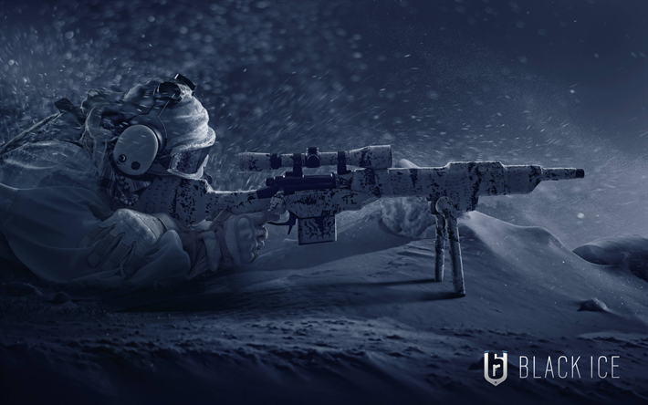Download Wallpapers Rainbow Six Siege Operation Black Ice 4k