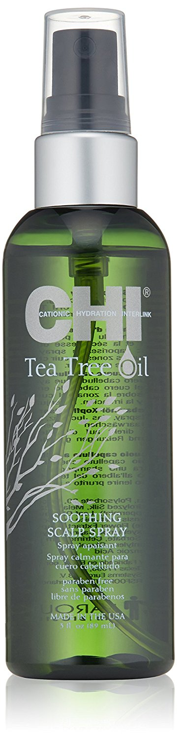 CHI Tea Tree Oil Soothing Scalp Spray, 3 fl. oz. -- This is an Amazon Affiliate link. Read more at the image link.
