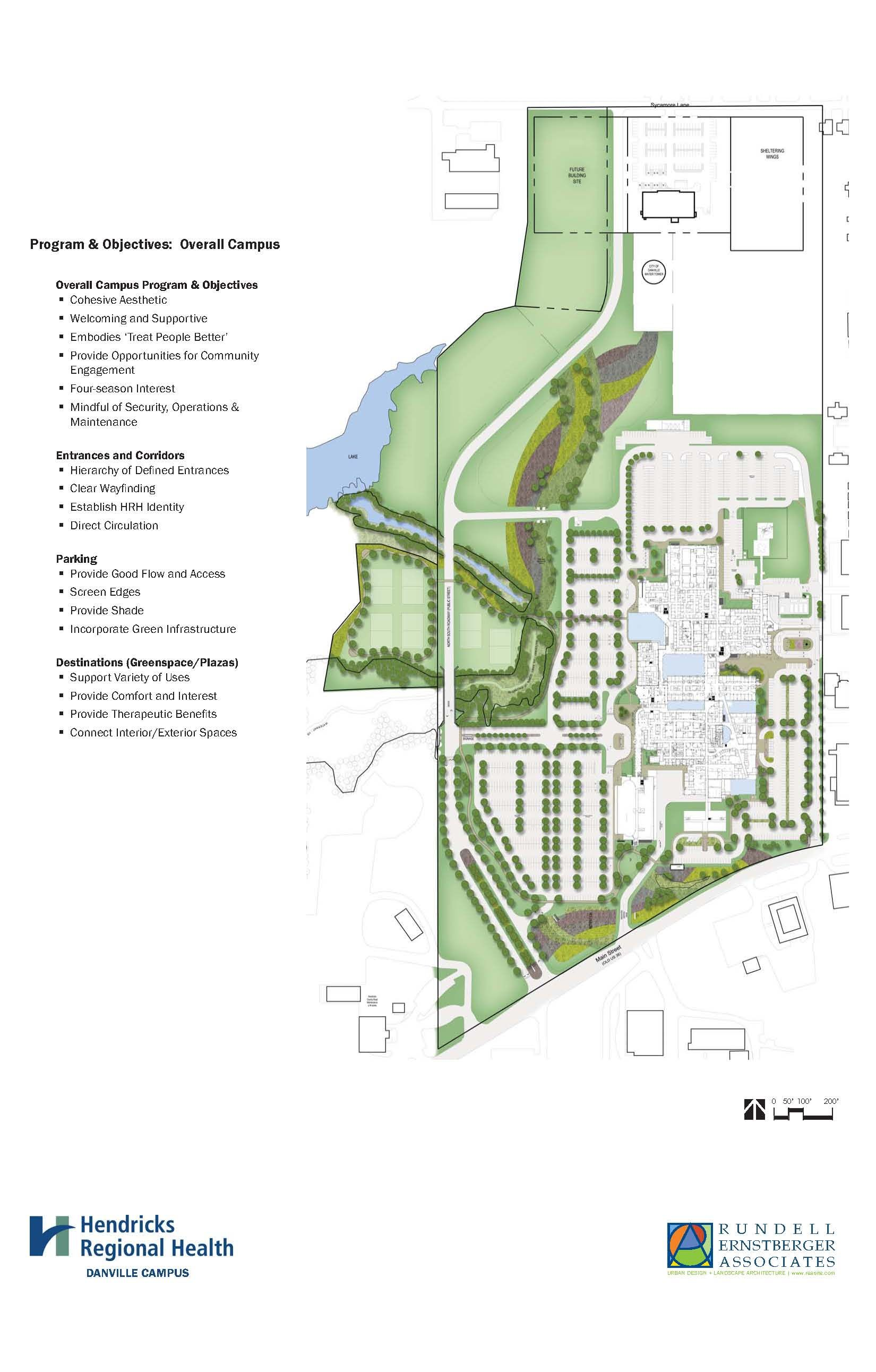 Hendricks Regional Health Campus Master Plan Danville