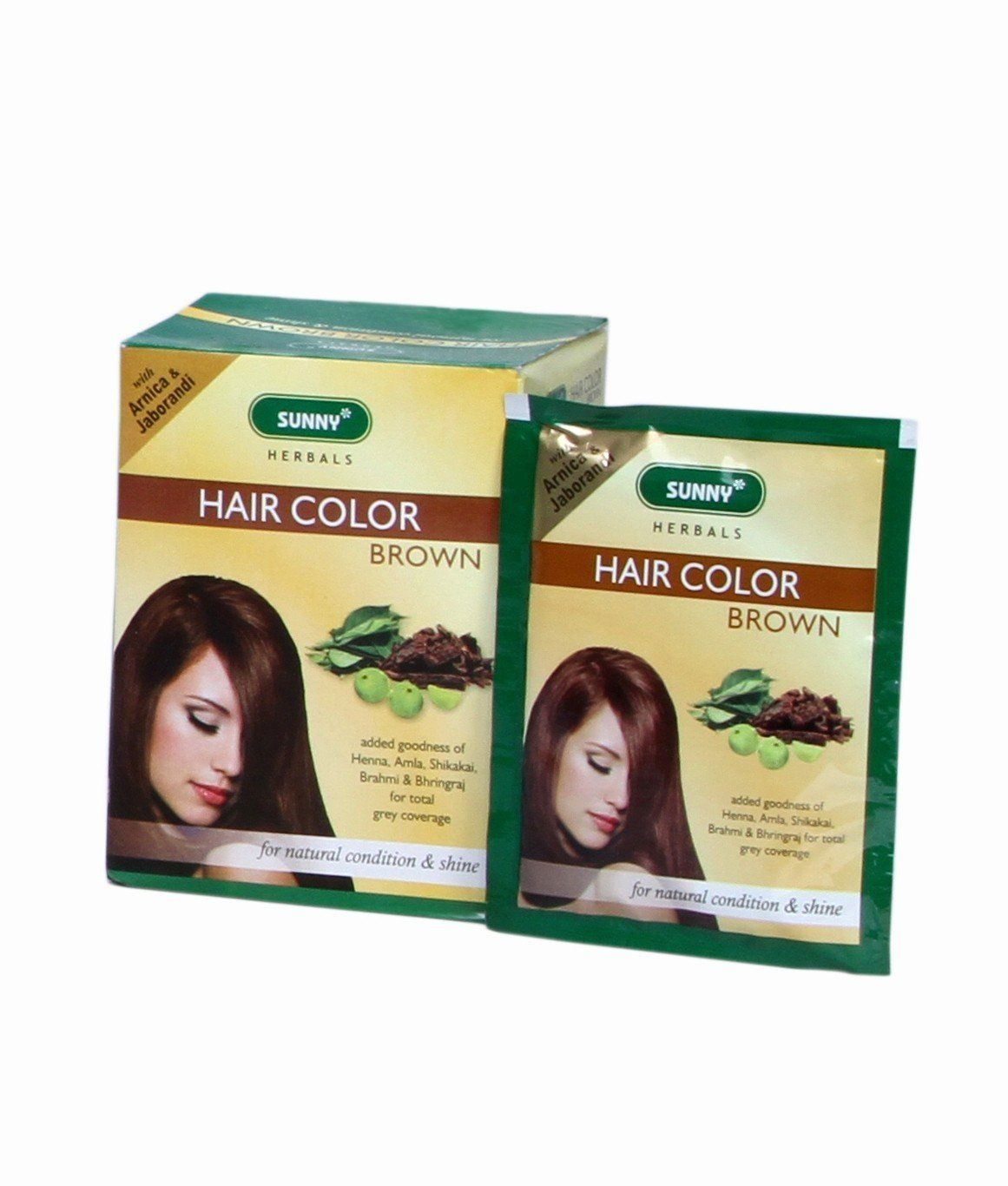 Herbal hair color dark brown pack of you can get additional