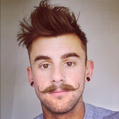 Pictures male facial hair