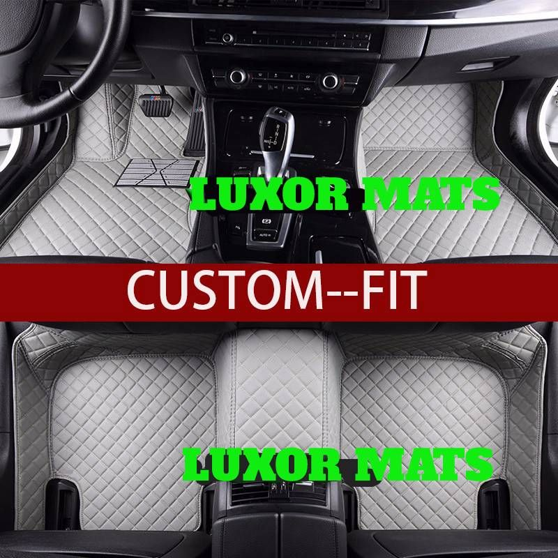 Custom Diamond Stitched Luxury Car Mats For 99 Of Cars Waterproof