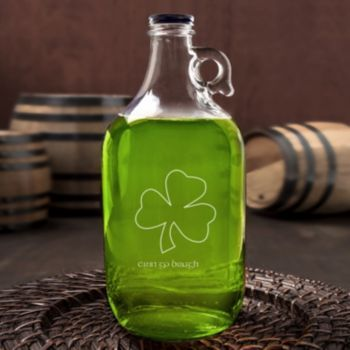 Cathy's+Concepts+St.+Patrick's+Day++64-oz.+Beer+Growler