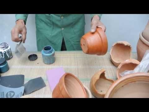 manualidades: decoración de macetas / materos pintados - youtube