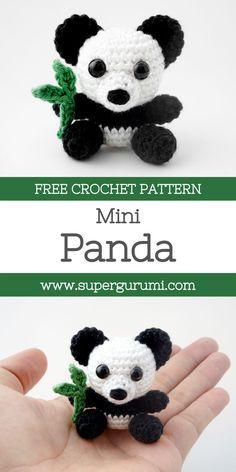 Amigurumi Crochet Panda Pattern