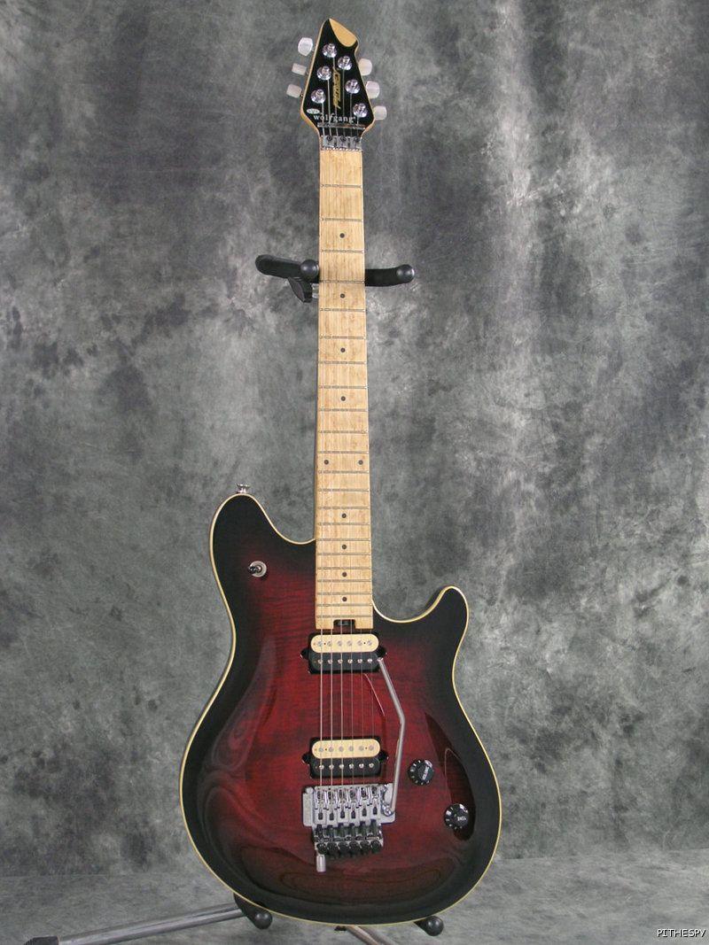 Peavey Wolfgang Evh Guitar Dark Cherry Sunburst