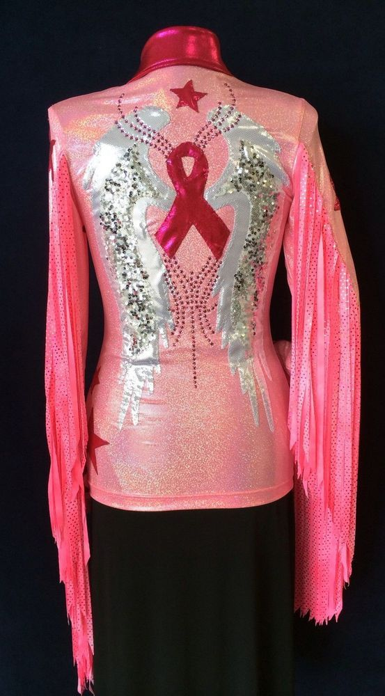 Rodeo Queen, Parade, Arena, Pink Adult Show Blouse #RidingHighUSA