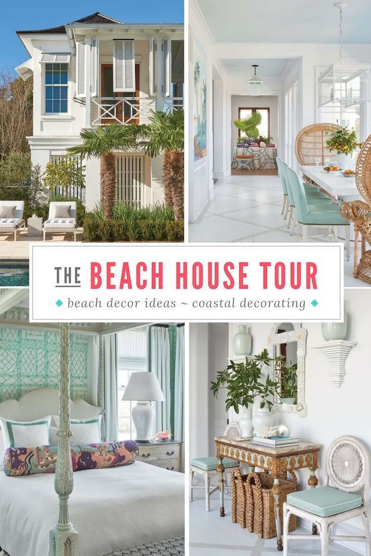 Photo of Sullivan Island Beach Home Tour | Coastal decorating ideas!
