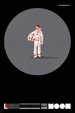 Moon Redrawn by Martin Ansin