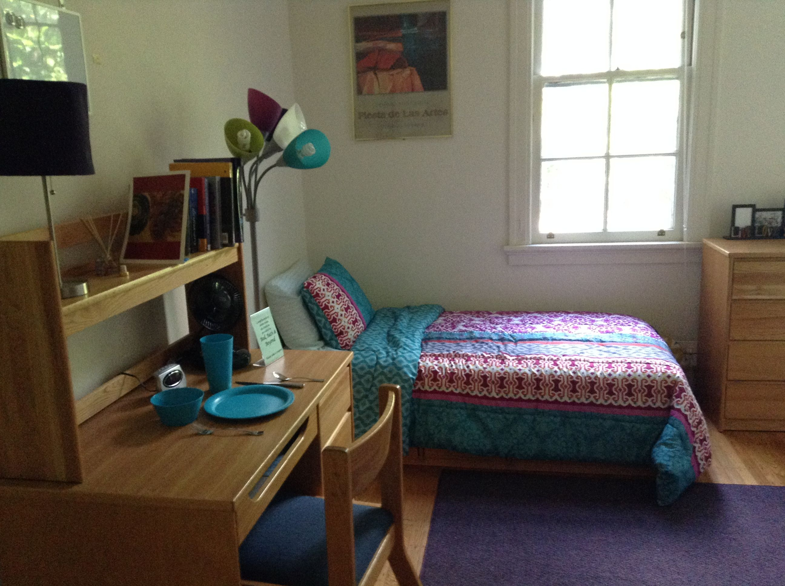 MILLS COLLEGE, Oakland, CA. Spring Tour   Photo Of Dorm Room. Part 64
