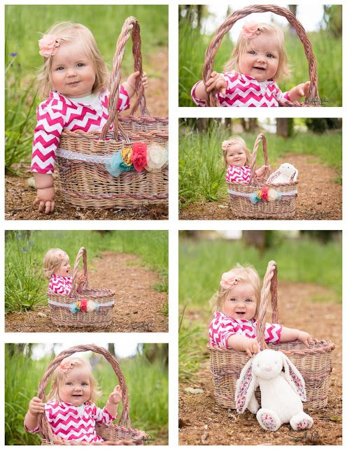 10 month old photo session and ideas posing with her jellycat bunny 10 month old photo session and ideas posing with her jellycat bunny and a darling easter basket belly band used for maternity and in babies first year negle Gallery