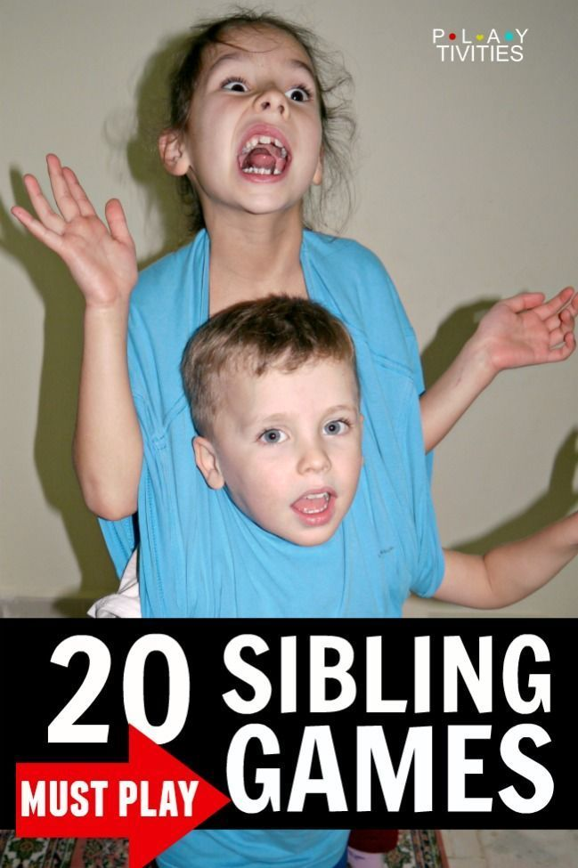 Games that older and younger siblings can play together ...