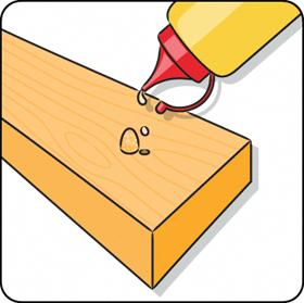 Um Holz aufzufüllen ist es oft schwierig, die richtige