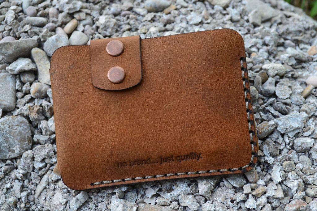 Leather WalletMen WalletLeather Card Holder от sergklim на Etsy