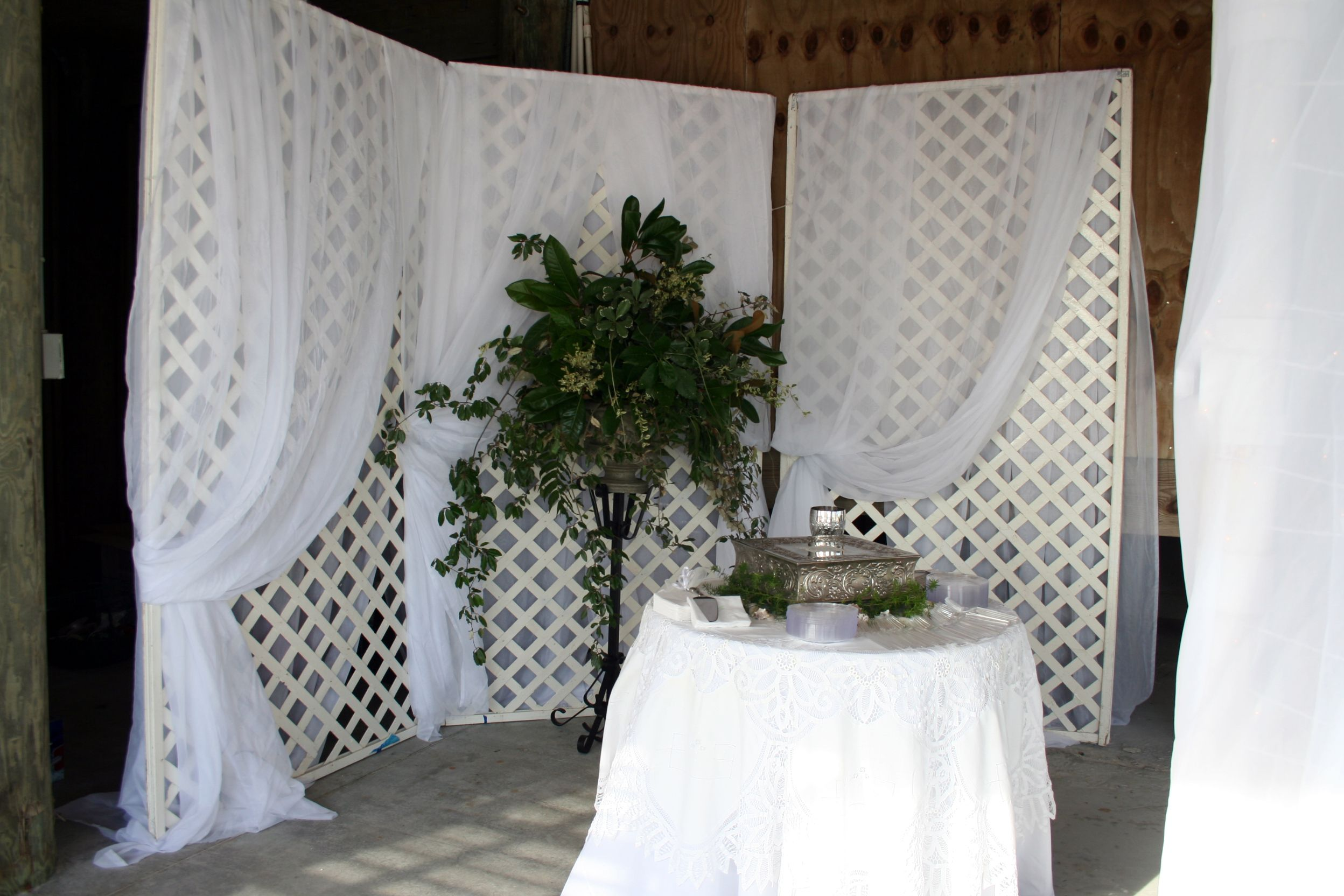 Image Result For Wedding Backdrops Using Lattice