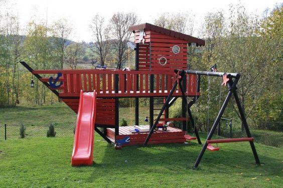 Individuelle Mobel Selber Bauen Hinterhof Spielplatz Kinderspiel Im Freine Schaukel Garten