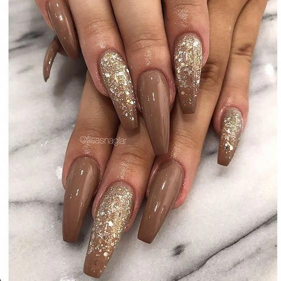 77 Trendy Brown Nail Art Designs And Ideas Naildesignideas Brown Nails Design Brown Nail Art Nail Designs