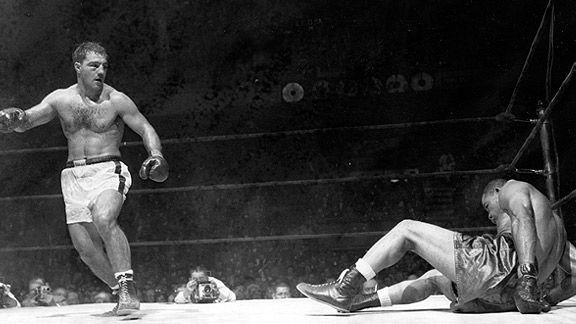 Rocky Marciano KO/'s La Starza Fantastic Boxing Poster